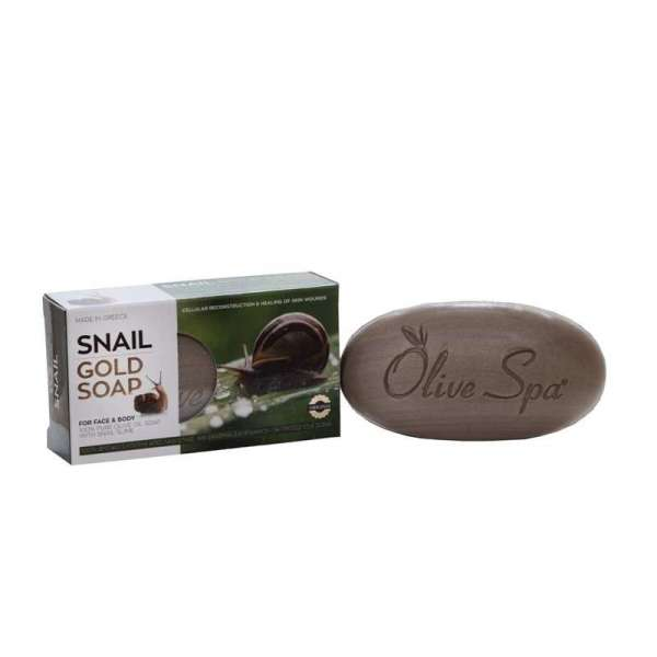 Olive Oil & Gold Snail Soap