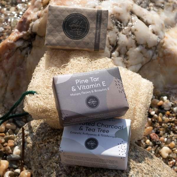 Hadmade & natural 3 soaps...